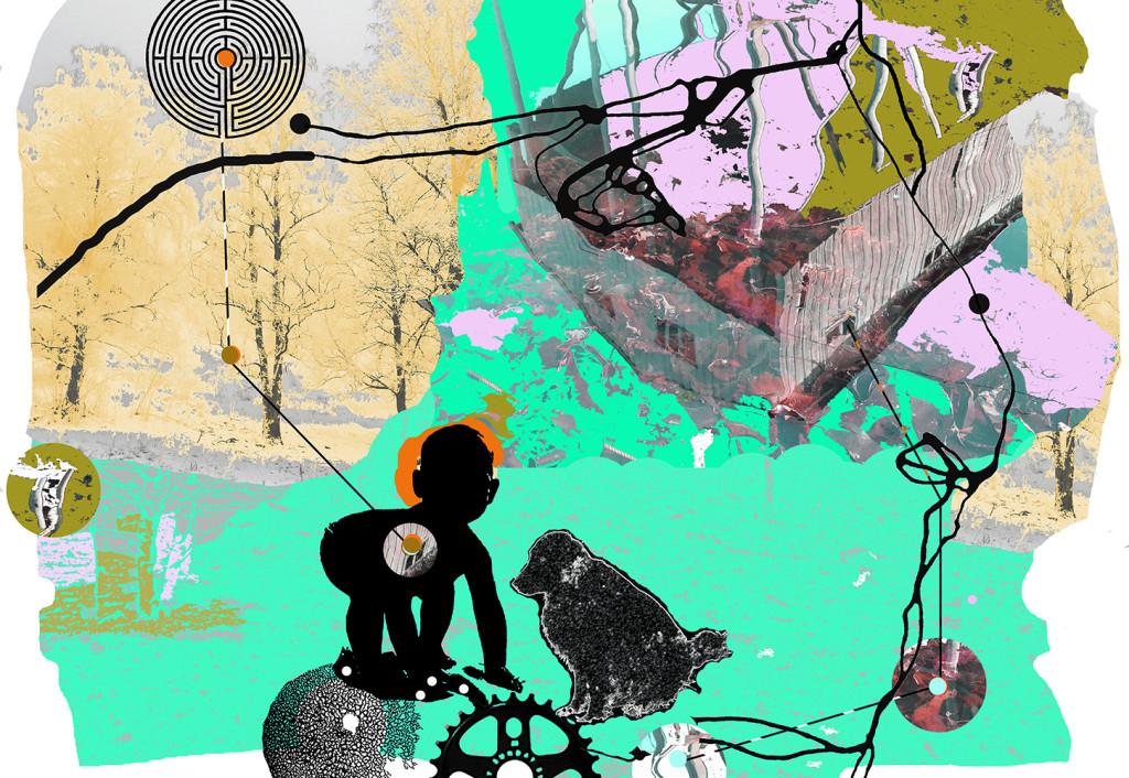 """""""Grønn tid"""" D.G.A. trykket på Magiclée Verona HD 240gsm papir Edition 70, 29 x 41 cm Price 2300,-"""