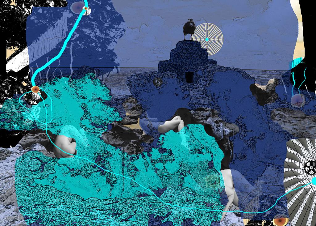 """Look behind the surface"" D.G.A. trykket på Magiclée Verona HD 240gsm papir Edition 70 Stor: 140x100, pris 7900,- Liten 70x50, Pris 3000,-"