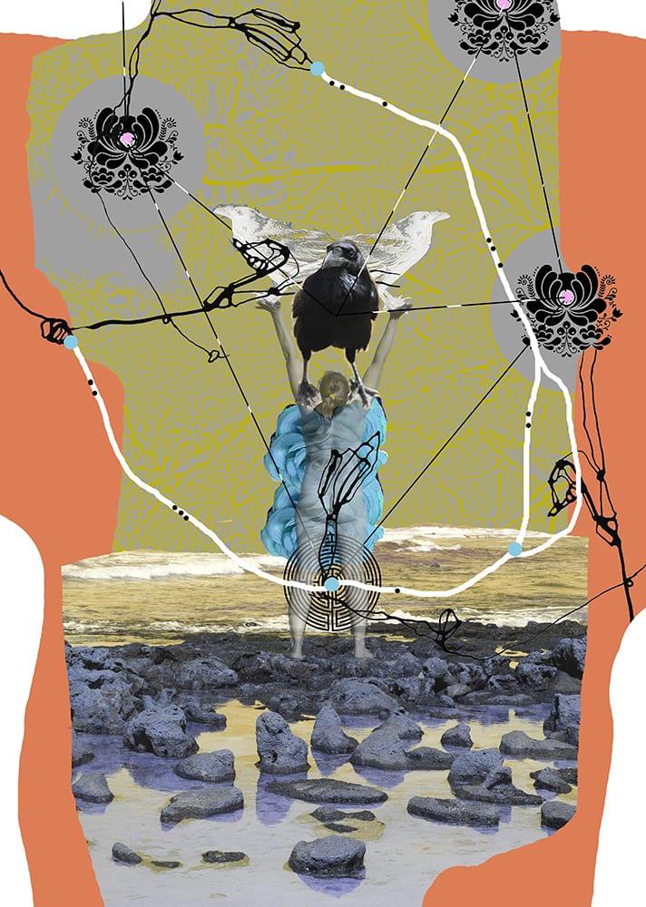"""""""Villkvinnen"""" D.G.A. trykket på Magiclée Verona HD 240gsm papir Edition 70, 41,5 x 58,5 cm Price 2800,-"""